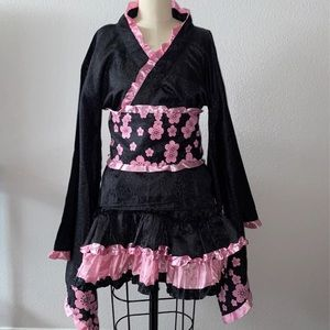 Cherry Blossom Geisha Sexy Adult M/L Costume